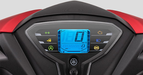 DIGITAL SPEEDOMETER WITH ECO INDICATOR